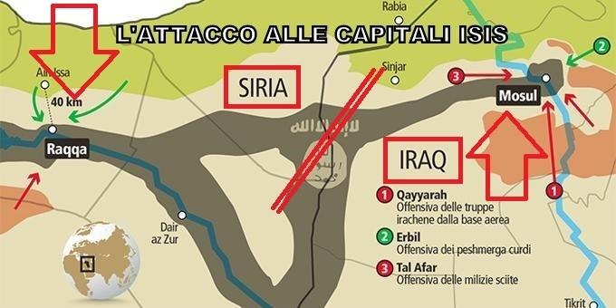Siria, la grande battaglia per Raqqa