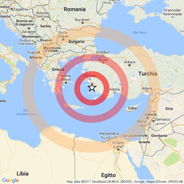 Terremoto in Grecia, due morti nell'isola di Kos