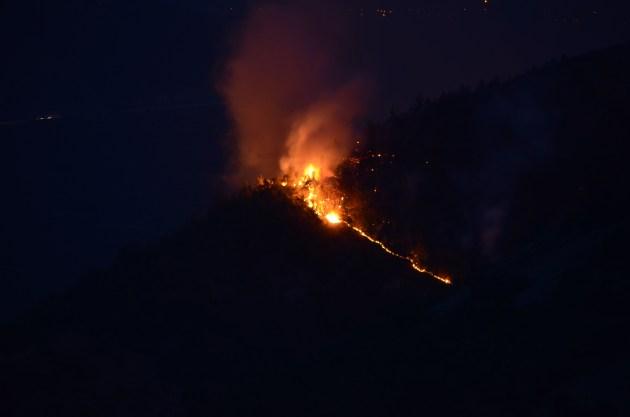 Incendio monte Morrone, fermato sospetto piromane: sequestrato materiale