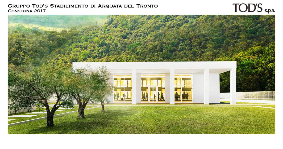 Della Valle e la fabbrica per Arquata: