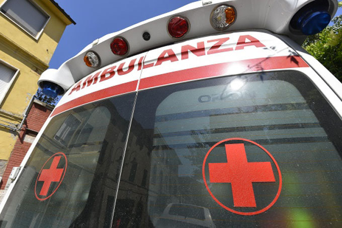 blocco ambulanze