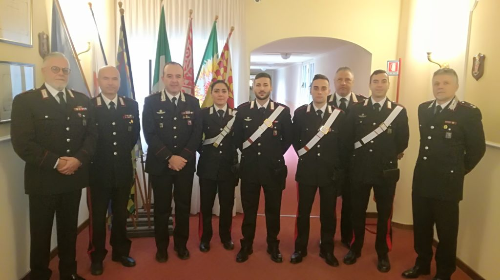 Ascoli Piceno, 4 nuovi Carabinieri in servizio - la-notizia.net