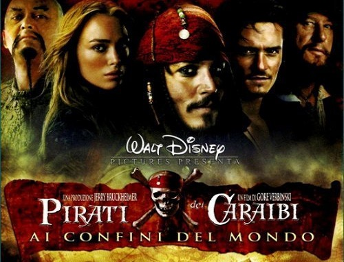FILM PIRATI DEI CARAIBI 3