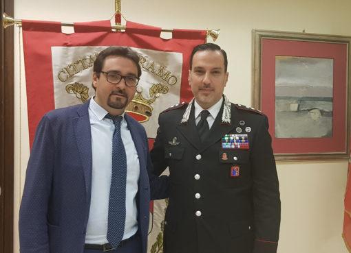 teramo visita comandante carabinieri
