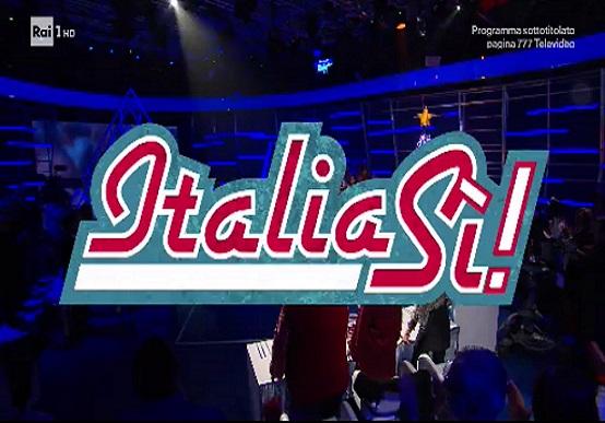 """""""ITALIA SI'"""" del 25 gennaio: il podio del pomeriggio con Marco Liorni"""