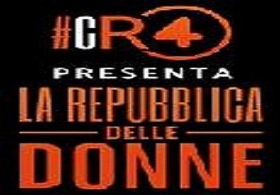 cr4 la repubblica delle donne 12 febbraio