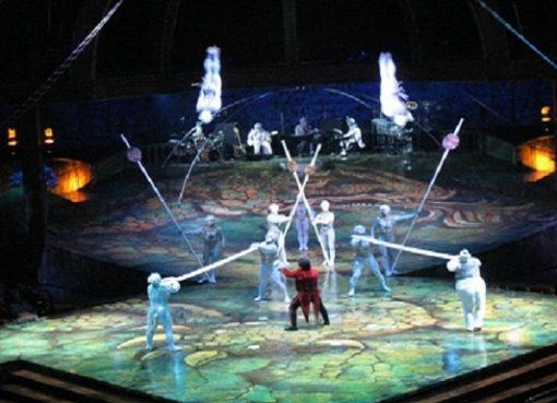 cirque du soleil 1° febbraio