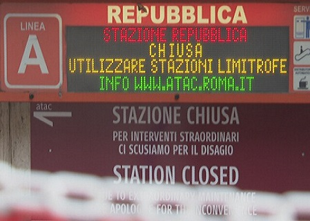 L'ANAC segnala il caso fermate metro chiuse a Roma