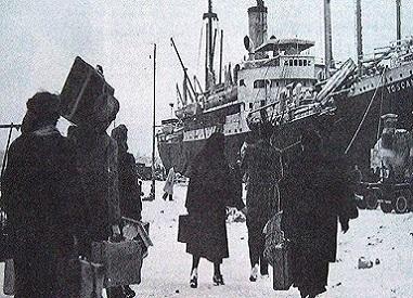 passato e presente immigrazione