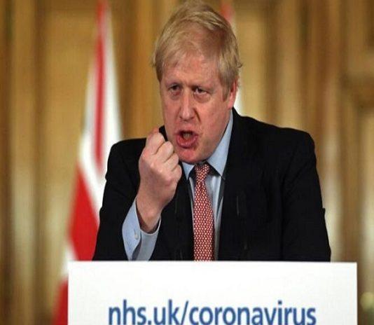 Boris-Johnson positivo al virus