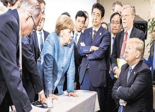 trump annulla il G7 a camp david