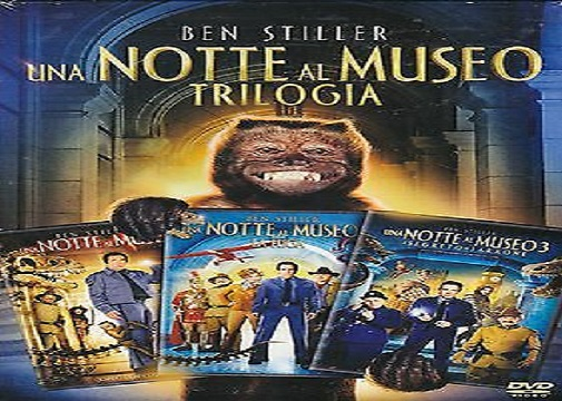 trilogia una notte al museo