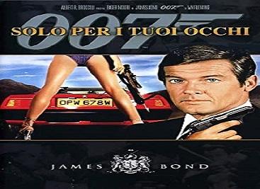 film 007 solo per i tuoi occhi