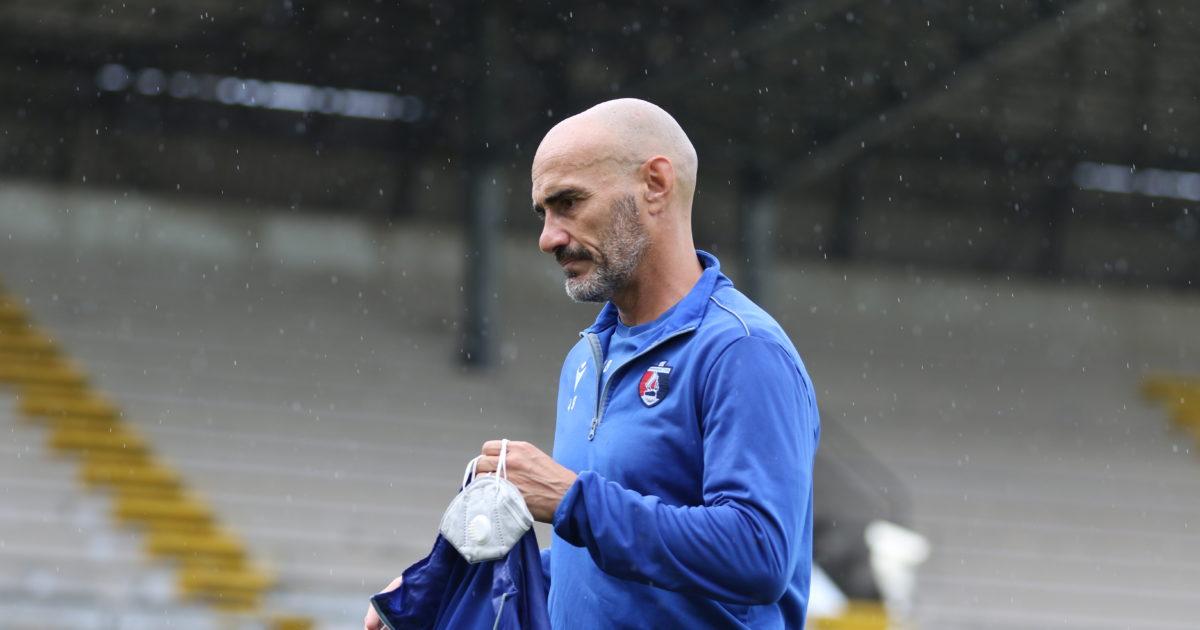 Sport Samb vista della gara play contro Padova rossoblu sono tornati allenarsi gruppo