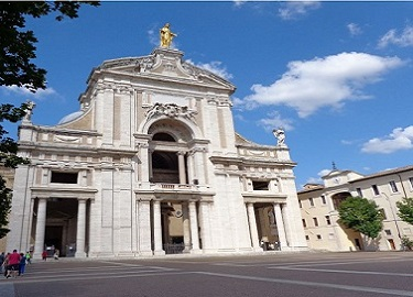 ss. messa dalla basilica di assisi 13 luglio