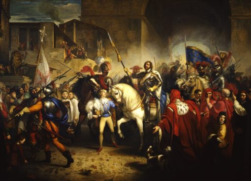 carlo VII in italia