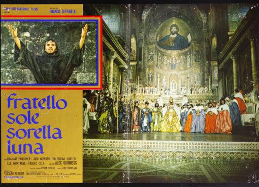Fratello sole, sorella luna è un film del 1972 diretto da Franco Zeffirelli, ed interpretato da Graham Faulkner, Judi Bowker e Kenneth Cranham liberamente ispirato alla vita e alle opere di san Francesco, dalla sua vocazione all'istituzione della regola francescana.