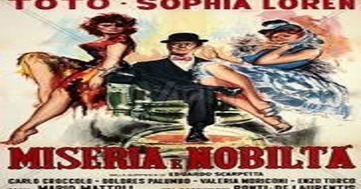 film miseria e nobiltà